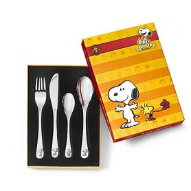 Kinderbesteck mit Gravur Snoopy 4-teilig