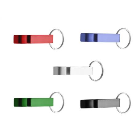 Schlüsselanhänger mit Flaschen- und Dosenöffner