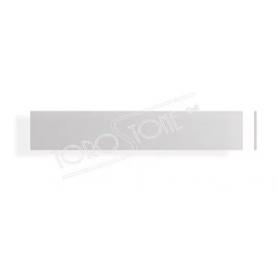 MarcMetal BL60 120 x 22 x 0.5 Kunststoff silber matt Briefkastenschild