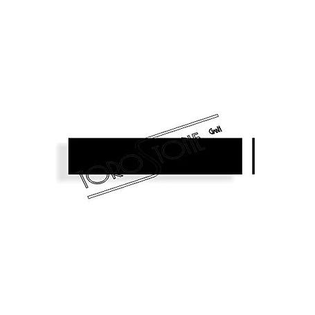 Schweizer 119 x 25 x 1,6 Kunststoff schwarz Briefkastenschild