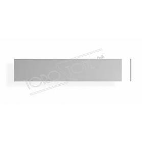 Schweizer 119 x 25 x 0,8 Kunststoff silber Briefkastenschild