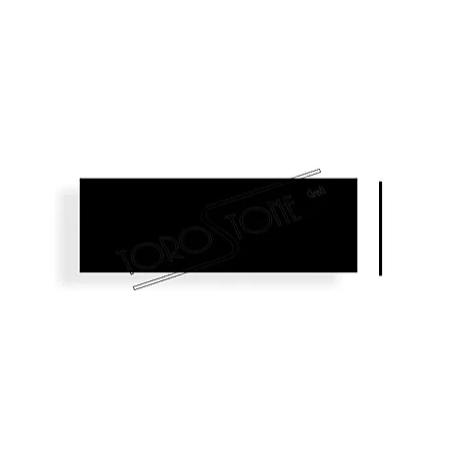 Utz 91 x 31 Kunststoff schwarz Briefkastenschild