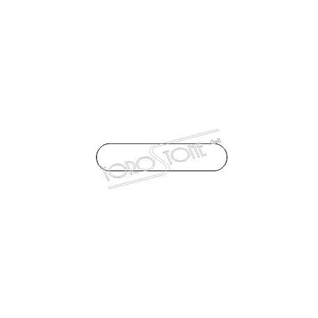Gfeller 55 x 11,5 Kunststoff weiss selbstklebend Klingelschild