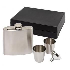 Flachmann mit Geschenkbox