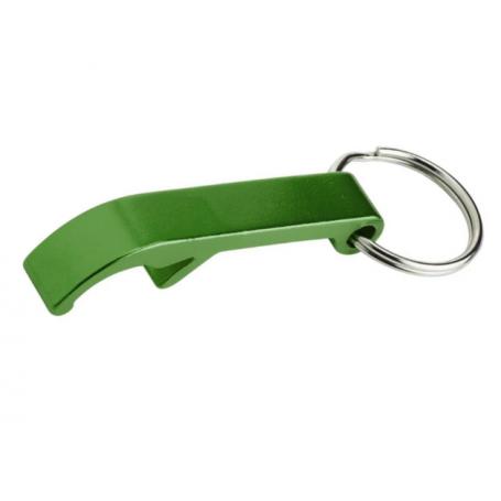 """Schlüsselanhänger """"Flaschenöffner"""" grün"""