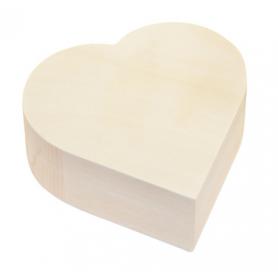 Herz-box aus Holz