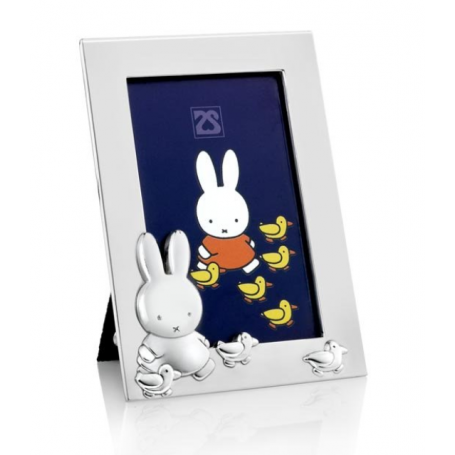 Fotorahmen Miffy mit Ente