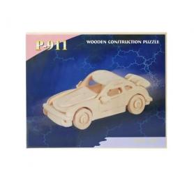 3D Holzpuzzle Porsche 911
