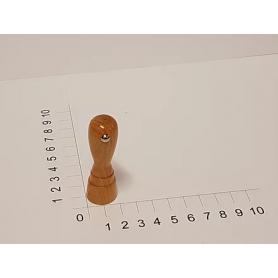 Holzstempel rund 20 mm Durchmesser