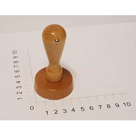Holzstempel rund 50 mm Durchmesser