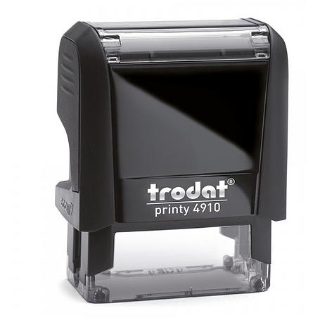 Trodat Printy 4910 - Textstempel - 26 x 9 mm - 2 Zeilen