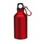 Aluminium Trinkflasche mit Gravur rot