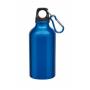 Aluminium Trinkflasche mit Gravur blau