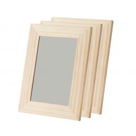 Fotorahmen aus Holz mit Gravur