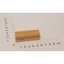 """Holzstempel """"Schulstempel"""" 20 x 60 mm"""