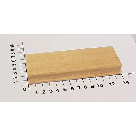 """Holzstempel """"Schulstempel"""" 50 x 140 mm"""