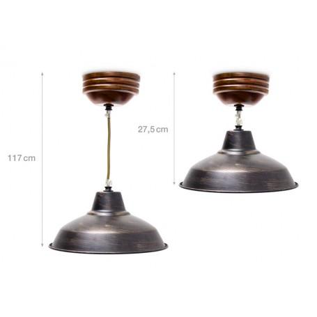 Industrielampe: Hängeläuchte Industrial