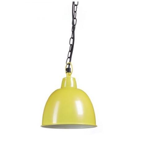 Industrielampe / Pendellampe gelb