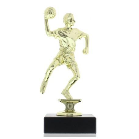 Handballspieler Pokal mit Gravur