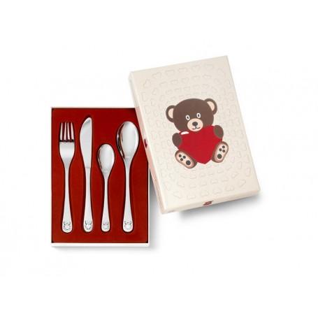 Kinderbesteck Bär mit Herz